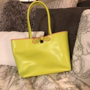 Furla green and pink purse - NWOT